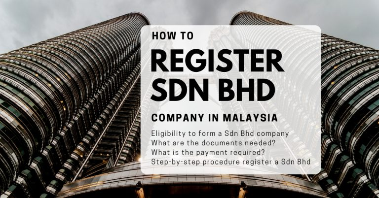 How to register a Sdn Bhd Company in Malaysia