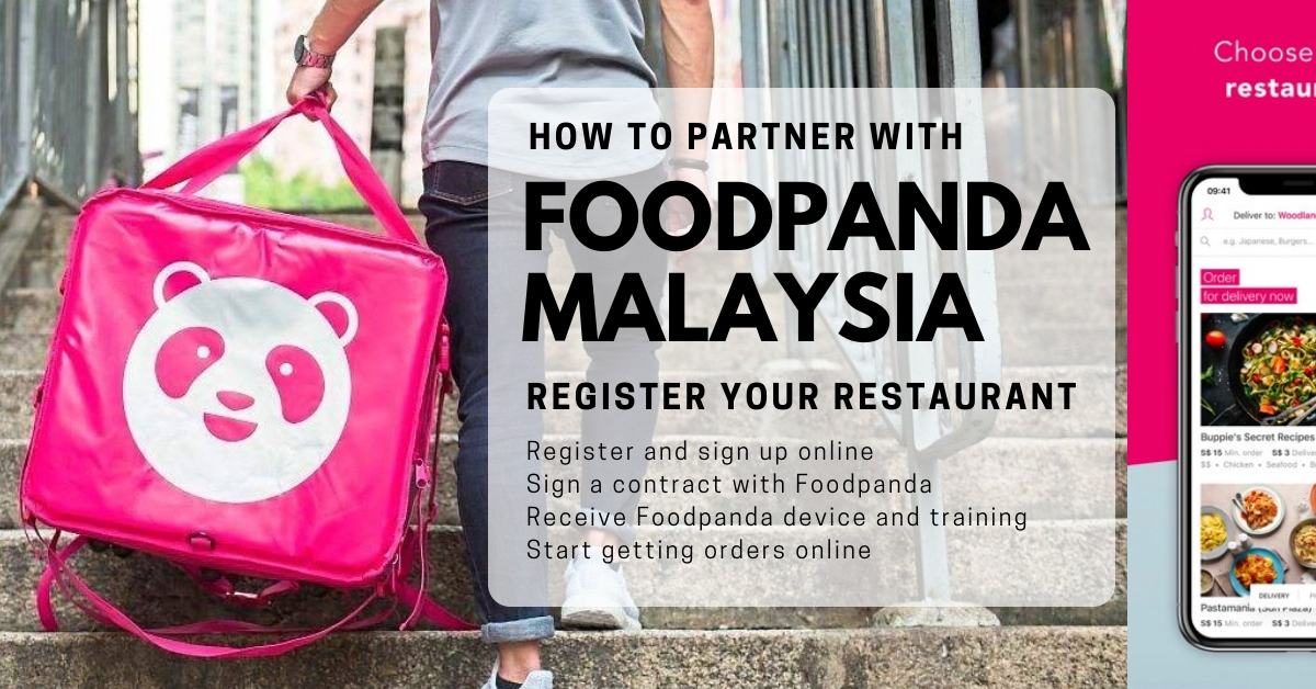 how to register restaurant with Foodpanda Malaysia